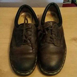 Made in England Brown Dr Marten